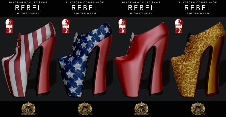 FP Rebel shoe fatpack